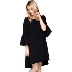 Sukienka z rękawami czarna