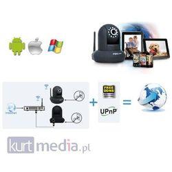 Foscam bezprzewodowa kamera IP FI9821P(white) Pan/Tilt WLAN 2.8mm H.264 720p P2P Szybka dostawa!