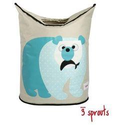 3 SPROUTS Kosz na pranie/zabawki - Miś Polarny