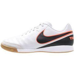 Nike Performance TIEMPO GENIO II IC Halówki pure platinum/black/hyper orange