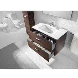Zestaw łazienkowy Unik 70 cm z szufladami Roca Victoria A855853222 Orzech