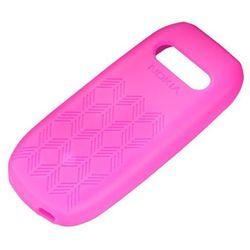 Etui Silikonowe Nokia CC-1028 Różowe do 1616 - Różowy