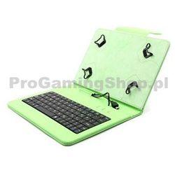 FlexGrip Sprawa z klawiaturą dla GoClever tab R974.2, Green