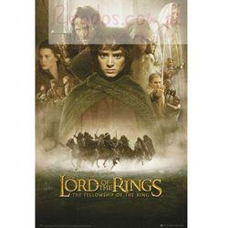 Władca Pierścieni Drużyna Pierścienia - plakat