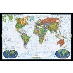 Świat Polityczny World Decorator mapa ścienna na podkładzie korkowym National Geographic