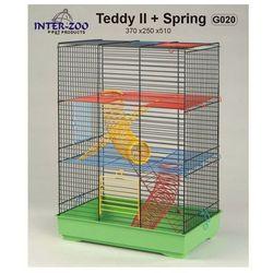 Inter-Zoo klatka dla chomika Teddy II ze sprężynami