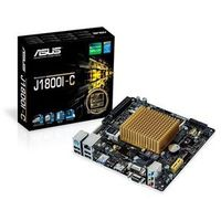 ASUS J1800I-C Płyta główna - Intel Bay Trail-D - Intel Onboard CPU socket - DDR3 RAM - Mini-ITX