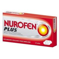 NUROFEN Plus x 12 tabletek