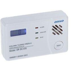 Czujnik, sygnalizator tlenku węgla (czadu) bateryjny, OR-DC-610