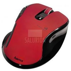 Hama mysz optyczna 8 czerwona
