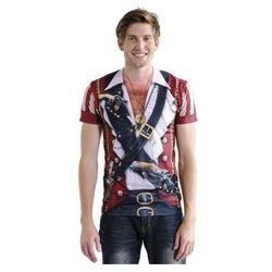 Koszulka Pirat - przebrania dla dorosłych - XL