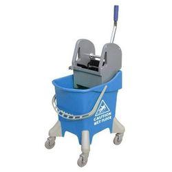 Wózek do sprzątania jednowiaderkowy31 litrów z prasą