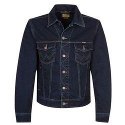 Wrangler WESTERN DENIM Kurtka jeansowa blue black