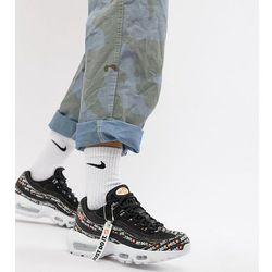 nike just do it white and black newspaper print air max 95