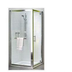 KOŁO GEO 6 Drzwi prysznicowe 80cm, profile srebrny połysk, szkło transparentne REFLEX GDRP80R22003