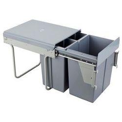 Wysuwany kosz do segregacji odpadów z mocowaniem frontu A40/3/1F