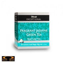 Herbata Dilmah Elegant Jasmine Green Tea - jasminowa królowa 20 torebek