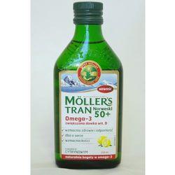 MOLLERS Tran Norweski 50+ aromat cytrynowy 250ml