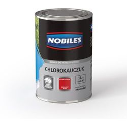 Emalia Chlorokauczuk Popielaty połysk 1L Nobiles