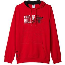 Bluza adidas Basic Po Hoody Chicago Bulls M AH5057