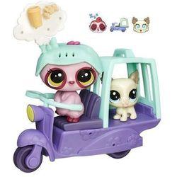Littlest Pet Shop Zwierzakowe Pojazdy Skuter