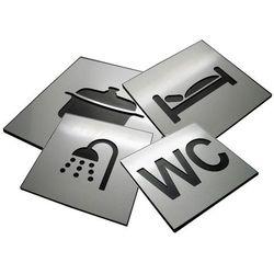 Piktogram, Symbol, Oznaczenie WC Dibond RÓŻNE
