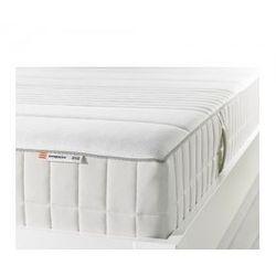 MYRBACKA Materac z pianki memory, twardy, biały 80cm