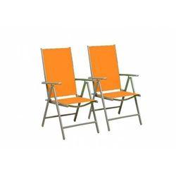 Rovens.pl Krzesła składane zestaw 2 sztuk