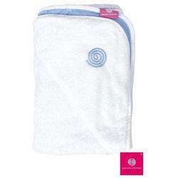 QUARANTA SETTIMANE Ręcznik dla noworodków - Błękitny