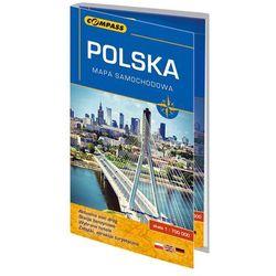 Polska 2016. Mapa samochodowa