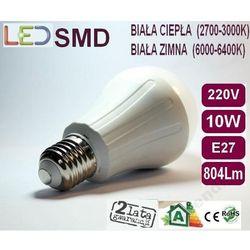 Żarówka Globe LED 2835 E27 10W=100W biała ciepła