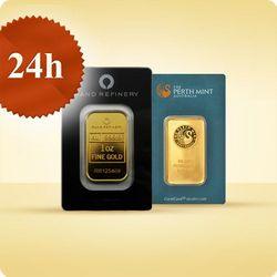 1 uncja Sztabka złota CertiCard - wysyłka 24 h!