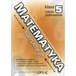 Matematyka 5 Korepetycje Szkoła podstawowa (opr. broszurowa)
