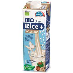 Napój Mleko Ryżowe z Orzechami Laskowymi 1L - The Bridge - EKO HIT