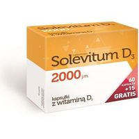 Solevitum D3 2000 kaps. 75 kaps.