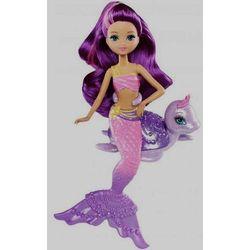 Barbie Perłowe Syrenki ze zwierzątkiem