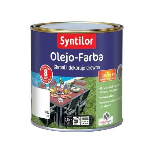Olejo Farba Do Mebli Ogrodowych 05 L Biel Syntilor