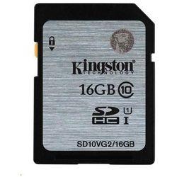 Kingston SDHC 16GB class 10 UHS-I - 45MB/s
