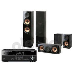 Yamaha RX-V381, Pure Acoustics NOVA 6 (czarny)