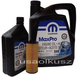 Olej MOPAR 5W30 oraz oryginalny filtr Volkswagen Routan 3,6 V6
