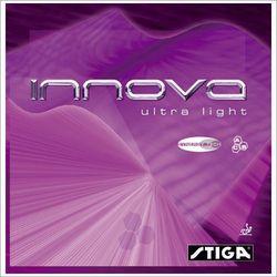 STIGA Innova Ultra Light SynergyTech - Okładzina - Czerwony