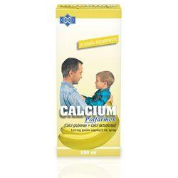 Calcium POLFARMEX o sm. bananowym syrop 150 ml