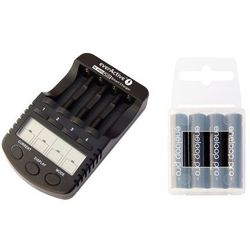 ładowarka everActive NC-1000 PLUS + 4 x R03/AAA Panasonic Eneloop PRO 950 (box)