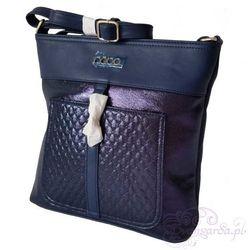 Oryginalna torebka na ramię z długim paskiem - granatowy 15% NOBO+PABIA (-15%)