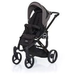 ABC DESIGN Wózek dziecięcy Mamba plus black-cloud, stelaż black/ siedzisko black