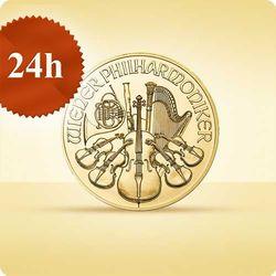 Wiedeńscy Filharmonicy 1/4 uncji złota - wysyłka 24 h!