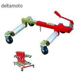 Podnosnik hydrauliczny z rolkami transportowymi, 28cm