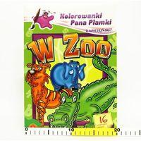 Kolorowanki Pana Plamki z wierszykami W zoo (opr. miękka)