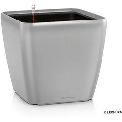Donica Lechuza QUADRO LS 35 - srebrna - matowa - srebrny