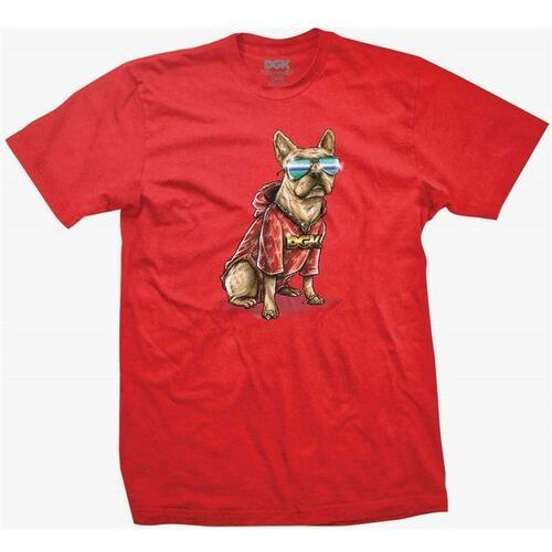 koszulka DGK - Frenchie Tee Red (RED)